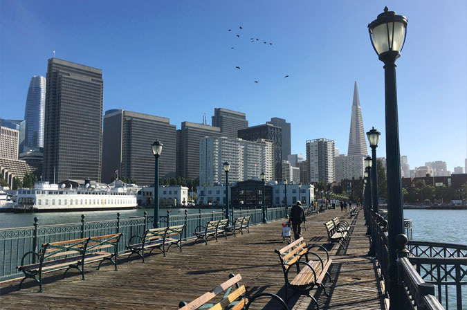 Beautiful Views of the City of San Francisco
