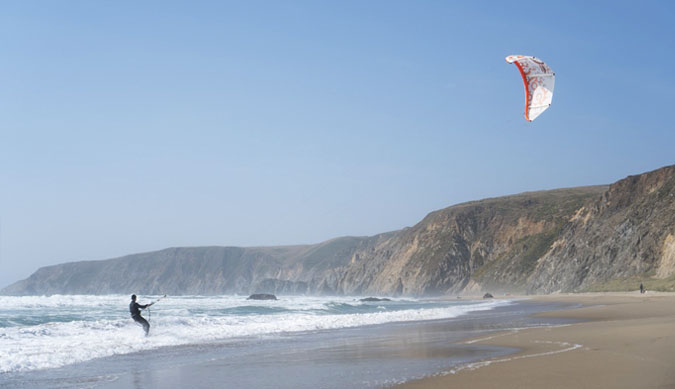 Best Place to Kitesurf in California - San Francisco