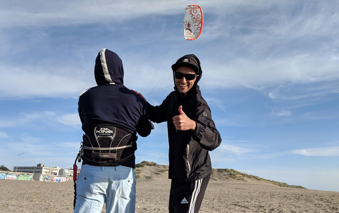 Introduction to Kite Surfing in San Francisco Bay